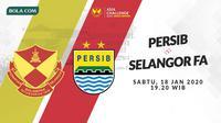 Asia Challenge Cup 2020: Selangor FA vs Persib Bandung. (Bola.com/Dody Iryawan)