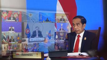 Jokowi Ingin ASEAN-RRT Terus Jalankan Kemitraan yang Sudah Terjalin 30 Tahun