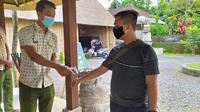 Penerapan Protokol Kesehatan di Tempat Wisata di Bali. (foto: Ika Defianti/Liputan6.com).