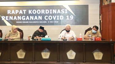 Covid-19 di Kota Malang Naik 6 Kali Lipat, Anggaran Penanganan Minim Terpakai