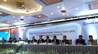 PT Bank Rakyat Indonesia (Persero) Tbk (BRI) menggelar Rapat Umum Pemegang Saham Tahunan (RUPST) di Kantor Pusat Bank BRI, Jakarta, Kamis (22/3/2018). (Wilfridus/2018)