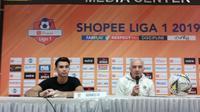 Pelatih Borneo FC Mario Gomez senang timnya mencuri satu poin di kandang Persib Bandung. (Liputan6.com/Huyogo Simbolon)