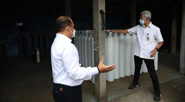 Stok Oksigen di Jateng Aman, Gubernur Ganjar Minta Rumah Sakit Tak Perlu Panik