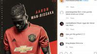 Manchester United (MU) telah menuntaskan proses transfer Aaron Wan-Bissaka dari Crystal Palace. (foto: instagram.com/manchesterunited)