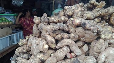 Penjual Rempah di Pasar Cikampek Karawang