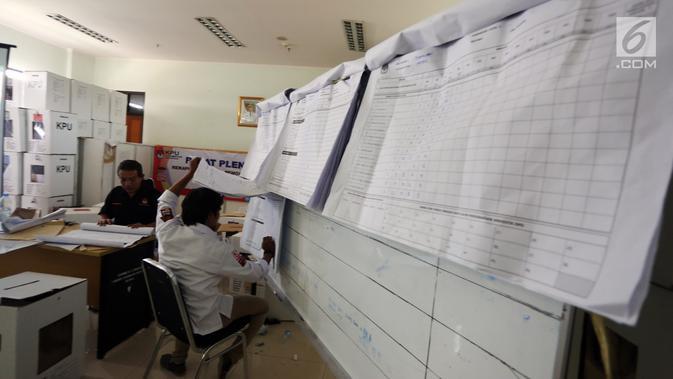 Rapat Pleno KPU Tangerang Terkendala Keterlambatan Laporan