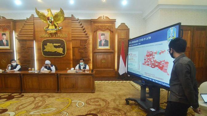 Update Corona COVID-19 di Jawa Timur 10 Juli 2020: Pasien Positif 15.720, Sembuh 6.131 Orang