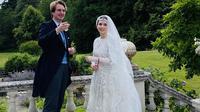 Putri Raiyah mengikat janji suci pernikahan dengan jurnalis kelahiran Inggris bernama Ned Donovan pada Selasa, 7 Juli 2020. (dok. Twitter @RaiyahHKJ/https://twitter.com/RaiyahHKJ/status/1280475885028675586