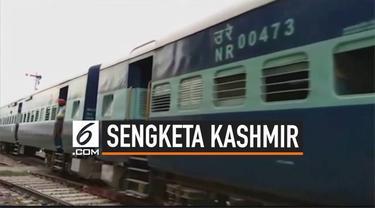 Pencabutan status khusus wilayah Kashmir berbuntut panjang. Pakistan bereaksi dengan menghentikan layanan kereta api rute Pakistan ke India.