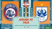 Shopee Liga 1 - Arema FC Vs PSIS Semarang (Bola.com/Adreanus Titus)