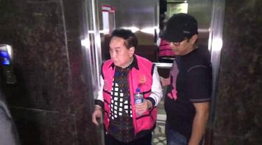 Eks buronan dugaan korupsi tangkapan Kejagung diam-diam diberi penangguhan penahanan oleh Kejati Sulsel (Liputan6.com/ Eka Hakim)