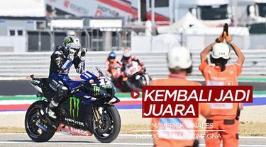 Berita Video Maverick Vinales Juara di MotoGP Emilia Romagna, Valentino Rossi dan Fabio Quartararo Gagal Raih Podium
