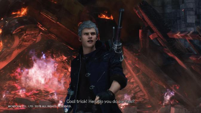 Devil May Cry 5 demo. (Liputan6.com/ Yuslianson)