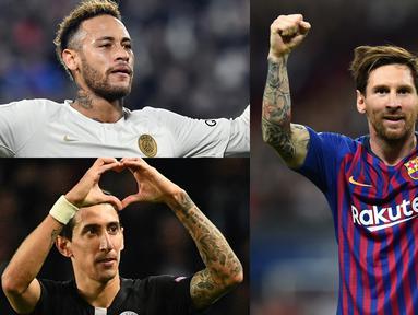 Sepak Bola adalah olahraga yang paling digemari di seluruh dunia. Sejarah para pesepak bola pun sepertinya layak untuk disimak dan jadi inspirasi hidup. (Kolase Foto AFP)
