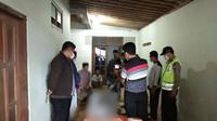 Jenazah Sofyan Tsauri diserahkan kepada keluarganya, di Kebumen. (Foto: Liputan6.com/Polres Kebumen)