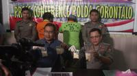 Direktorat Reserse Narkoba Polda Gorontalo berhasil membongkar peredaran narkoba jenis sabu yang dikendalikan dari dalam Lapas Kelas II A Manado. (Liputan6.com/ Andri Arnold)