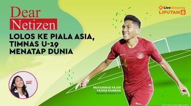 Timnas U-19 Indonesia sukses memastikan tiket ke putaran final Piala Asia U-19 2020 di Uzbekistan. Di kualifikasi, dalam tiga laga, tim asuhan Fakhri Husaini ini menghajar Timor Leste (3-1) dan Hong Kong (4-0), serta menahan tim kuat Korea Utara 1-1.