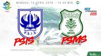 Liga 1 2018 PSIS Semarang Vs PSMS Medan (Bola.com/Adreanus Titus)