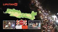 Banner Infografis Aksi-Aksi Nekat Terobos Penyekatan Mudik Lebaran 2021. (Liputan6.com/Abdillah)