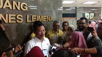 Menteri Kesehatan Terawan Agus Putranto memberikan keterangan pers terkait defisit BPJS Kesehatan (Liputan6.com/Giovani Dio Prasasti)