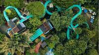 Lebih dari enam ribu pengunjung datang ke The Jungle Waterpark di hari pertama libur Lebaran/Instagram @thejunglebogor.