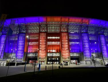FOTO: Mengulik Sejarah dan Menikmati Gemerlapnya Cahaya Puskas Arena, Veneu Piala Eropa 2020