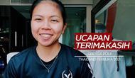 Berita Video Ucapan Terimakasih Greysia Polii Kepada Masyarakat Indonesia Usai Juara di Thailand Terbuka 2021