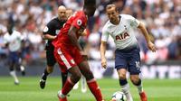Striker Tottenham Hotspur, Harry Kane (Twitter Tottenham)