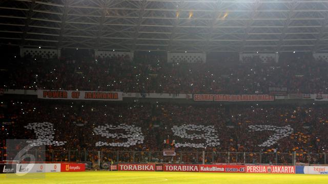 Sc Optimistis Fans Persija Dan Bali United Banjiri Gbk
