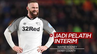 Berita Video Wayne Rooney jadi pelatih sementara Derby County