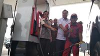 SPBU Pertamina jualan lagi BBM Premium (Dok Foto: Merdeka.com/Wilfridus Setu Embu)
