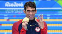 Michael Phelps adalah atlet renang berbakat asal Amerika