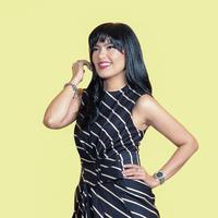 Lola Amaria, produser dan sutradara film Lima. (Fotografer: Bambang E. Ros, Digital Imaging: Muhammad Iqbal Nurfajri /Bintang.com)
