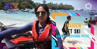Cerita Anindya Kusuma Putri alami cedera saat bermain Jet Ski.