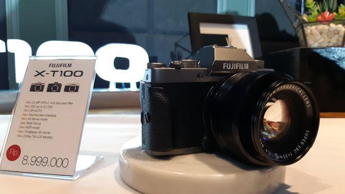 Fujifilm X-T100. Liputan6.com/ Agustinus Mario Damar