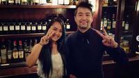 Charmaine Thio, brand ambassador Hendrick's Gin bersama Yutaka. foto: Instagram @crazycocktailcat