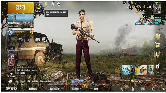 PUBG Mobile di Realme Narzo (Andina Librianty/Liputan6.com)