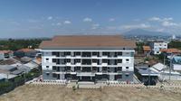Rusunawa  senilai Rp 12,9 miliar bagi mahasiswa yang tengah menimba ilmu menjadi calon guru di Universitas PGRI Semarang (UPGRIS).  (Dok Kementerian PUPR)