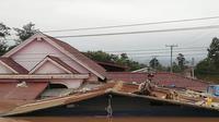 Banjir bandang terjadi di Laos akibat sebuah bendungan jebol pada Senin malam, 23 Juli 2018, menewaskan setidaknya 20 orang. (AP)