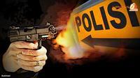 Kendati, polisi masih menyelidiki keberadaan senjata di samping jenazah AKBP Pamudji itu.