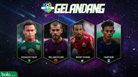 Best XI Liga 1 Tengah 2018 (Bola.com/Adreanus TItus)