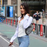 Bella Hadid, Saddle Bag, Christian Dior, image: Vogue
