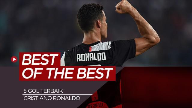 Berita motion grafis 5 gol spektakuler Cristiano Ronaldo, mulai dari Manchester United hingga Timnas Portugal.