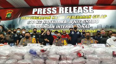 (Satresnarkoba) Polres Metro Jakarta Pusat berhasil membongkar jaringan narkoba internasional