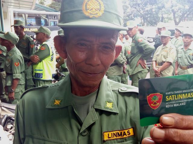Beda Nasib Personel Hansip Dan Linmas Di Kota Malang Regional Liputan6 Com