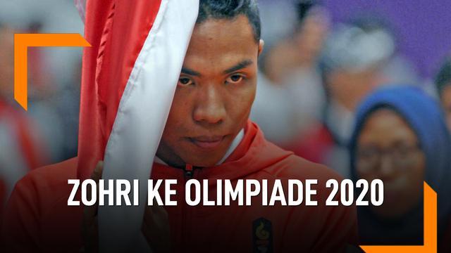 Catatan Waktu Zohri, Kantongi Tiket ke Olimpiade Tokyo 2020