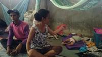 Susu Kaleng dan Kisah Pilu Balita Gizi Buruk Korban Banjir Konawe