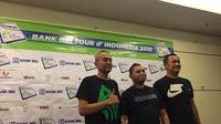 Ketua Panpel Tour d'Indonesia 2019 Parama Nugroho (kiri). Tour d'Indonesia dimulai dari Candi Borobudur dan finis di Bali, 19-23 Agustus 2019. (foto: Liputan6.com/Adyaksa Vidi)