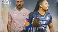 Liga 1 - Youssef Ezzejjari, Paulo Henrique, Carlos Fortes (Bola.com/Adreanus Titus)