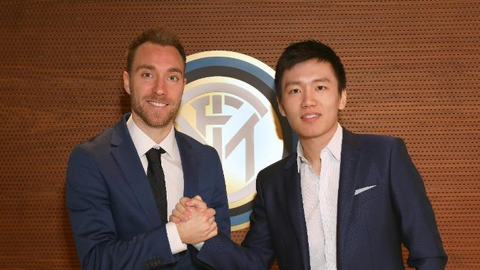 Inter Milan Resmi Rekrut Christian Eriksen - Bola Liputan6.com